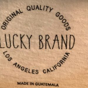 Lucky Brand Tops - Cute Lucky Brand TShirt